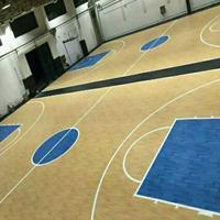 室外塑胶篮球场价格 pvc塑胶篮球场