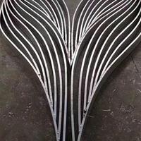 商场弧型铝方通-造型铝方通吊顶