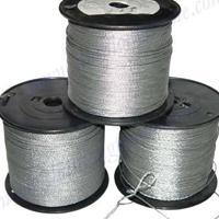 玻璃棉专用包塑钢丝绳厂家联系电话