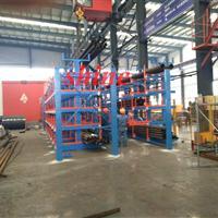 管材使用什么货架 伸缩悬臂货架小空间整齐存放管材