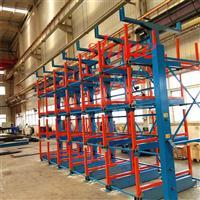 伸缩式悬臂货架适用于所有类型管材存储
