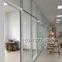 东莞华为办公室高隔断-东莞铝合金玻璃隔断案例