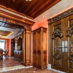 长沙海棠木原木家具价格透明、原木房门、储物柜定做管理模式