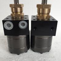 5cc圆形油漆齿轮泵 5cc静电输漆泵浦