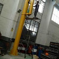 常州工厂室内2T电动旋转定柱式悬臂吊起重机