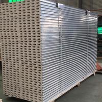 A1级防火机制硫氧镁板 保温硫氧镁夹芯板