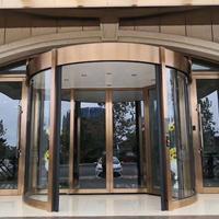 石家庄旋转门价格 售楼中心旋转门维修安装 转转门控