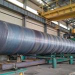 X80M双面埋弧焊螺旋钢管