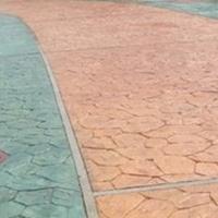 襄阳压模水泥地坪施工甘肃普林德提供现场技术指导