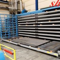 板材怎么存放 节省空间设计板材货架 抽屉式结构吊车存放板材