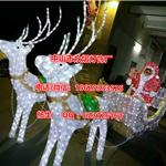 3D立体蝴蝶造型灯 led圣诞动物灯 灯串滴胶工艺铁架飞马造型灯