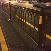 城市道路交通护栏的固定安装方法