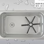 中小号洗杯器不锈钢洗缸器奶缸奶盅酒杯茶杯烧杯嵌入式杯子清洗器