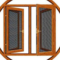 铝合金门窗-85非断桥窗纱一体|断桥铝门窗