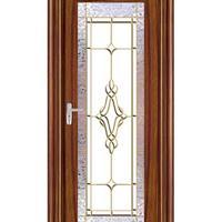铝木门窗|铝木平开门|铝包木门窗-柚木系列