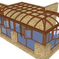 欧式抛物线阳光房|高档阳光房厂家