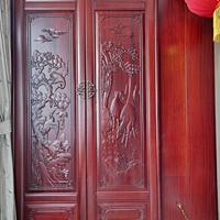 长沙市定制实木家具品牌排名、实木移门、隐形门订做大宝油漆