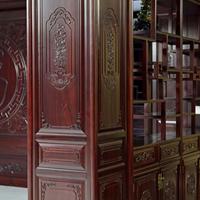 长沙市实木整木家具合理布局、实木墙裙、护墙板订做装修案例