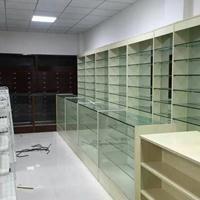 专业设计成都药房(药店)展柜/展示柜台/货柜定做工厂