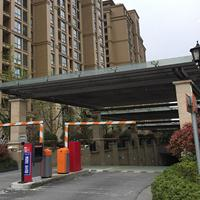泰州钢结构雨篷厂家设计制作汽车坡道雨篷