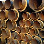 聚氨酯直埋输水保温管厂家生产