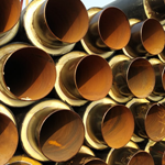 集中供热聚氨酯热力输送保温管生产价格