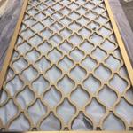 卫生间隔断不锈钢屏风装饰