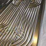 镂空不锈钢屏风-不锈钢板雕刻屏风