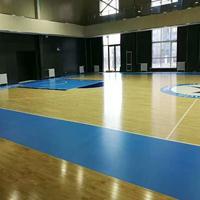 室外篮球场塑胶 pvc塑胶运动地板