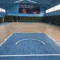 室外pvc地板厂家 标准塑胶篮球场
