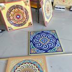 时尚鲜明印花铝单板-彩绘油画铝板生产厂家