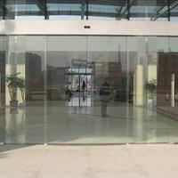 供应自动门 玻璃感应门 钢化玻璃门