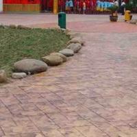 蚌埠压模混凝土施工一次成型蚌埠压模地坪报价多少钱一平米