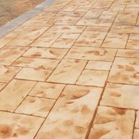 吉安压模地坪厂家材料地面价格哪家合理艺术模具压模美观