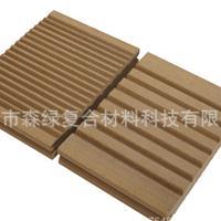 木塑材料 生态木 广东佛山厂家直销木塑实心地板135-21 MM