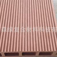 佛山厂家直销3CM防水防潮防蛀空心塑木地板145*30MM单面板
