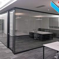 深圳办公室全景玻璃隔断-铝合金玻璃专场