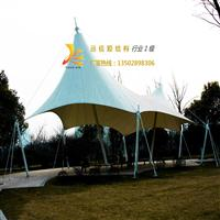 【广州】温泉景区膜结构景观张拉膜施工,广场小品膜张拉膜设计