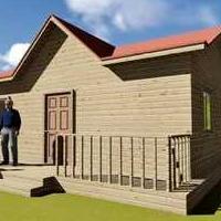 海南移动别墅、景观别墅、度假别墅、集成房屋、轻体房厂家安装