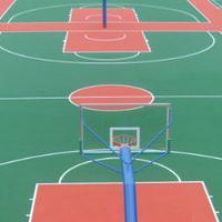 花都球场地坪漆,篮球场地平漆,羽毛球场漆,球场水性漆