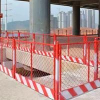 迈伦 施工临边护栏 电力维修临时围栏厂家 施工安全围挡价格