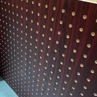 新型墙体吸音板 硅酸钙FC穿孔复合板 机房专项使用板 玻璃棉内衬