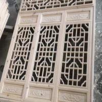 供应油漆成品仿古门窗 成批出售中式仿古花格门 定制加大挂落