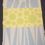 彩绘艺术冲孔板-植物彩色铝板定做