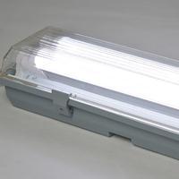 供应T8双管三防灯支架LED防水支架ABS PC三防灯套件