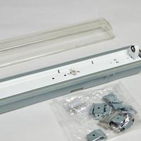 LED三防支架T8单管三防外壳中性内盒包装IP65防水支架