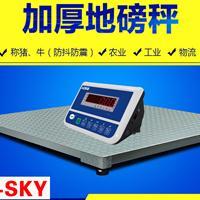 地磅厂家直销小型电子地磅 平台秤地磅秤 花纹钢板材质磅秤不锈钢