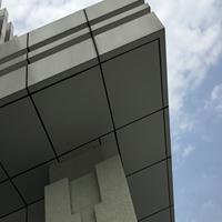 张家港校区门头铝单板-雨棚材料铝板-外墙幕墙铝单板