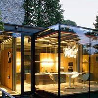 如何设计一幢有品位的露台阳光房?