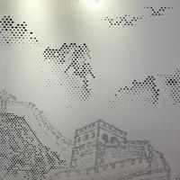 按要求定制3D微孔铝单板图案-3D图案冲孔铝单板幕墙厂家